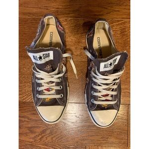 Converse patchwork low top shoes